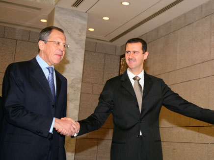 אסד ולברוב (צילום: חדשות 2)
