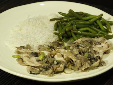 עוף תאילנדי בחלב קוקוס (צילום: אוכל טוב)