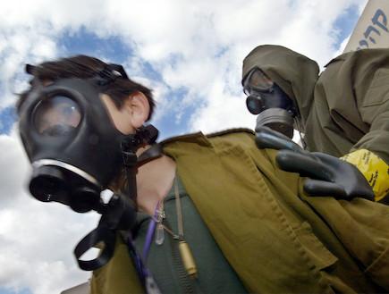 תרגיל עורף ישראלי (צילום: David Silverman, GettyImages IL)