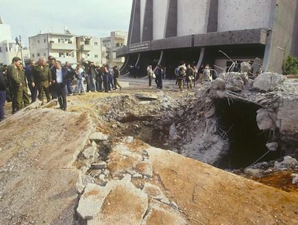 """מלחמת המפרץ (צילום: אתר צה""""ל)"""
