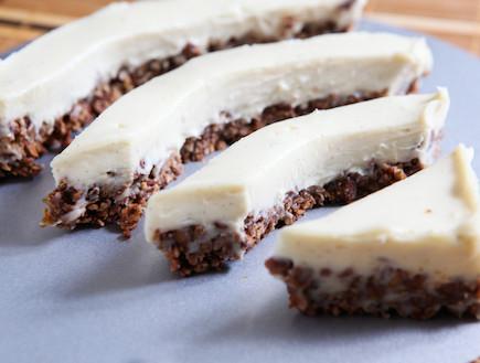 עוגת שוקולד וגבינה ללא אפייה (צילום: בני גם זו לטובה, אוכל טוב)