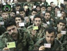 עריקים מהצבא הסורי (צילום: youtube)