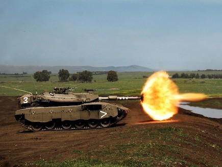 """טנק (צילום: יוני מרקוביצקי, דובר צה""""ל)"""