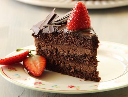 עוגת שוקולד חגיגית (צילום: חן שוקרון, אוכל טוב)