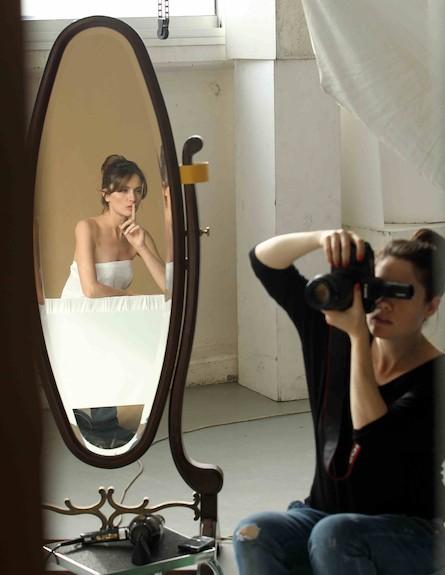 מלי לוי למימי לוזון (צילום: עודד קרני)