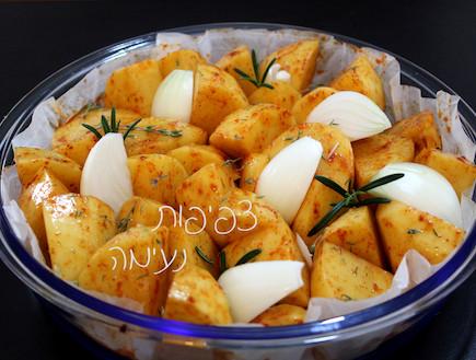 תפוחי אדמה בתנור (צילום: אסתי רותם, אוכל טוב)