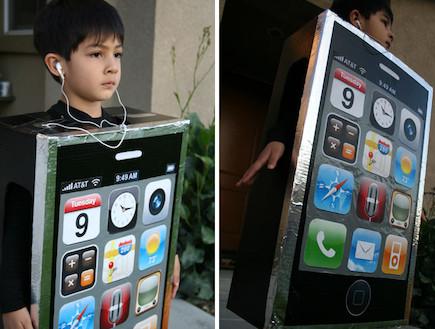 אייפון - תחפושות שוות (צילום: לקוח מאתר inhabitots.com)