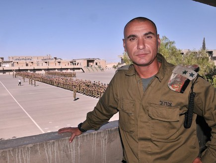 """איתמר קאפח (צילום: דובר צה""""ל)"""