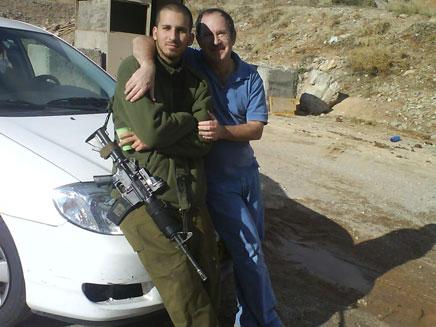מידד נתיב ובנו יאיר (צילום: באדיבות המשפחה)