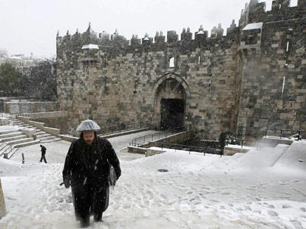 שלג בירושלים? גם אנחנו מקווים (צילום: רויטרס)