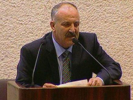 """ח""""כ שכיב שנאן (צילום: ערוץ הכנסת)"""
