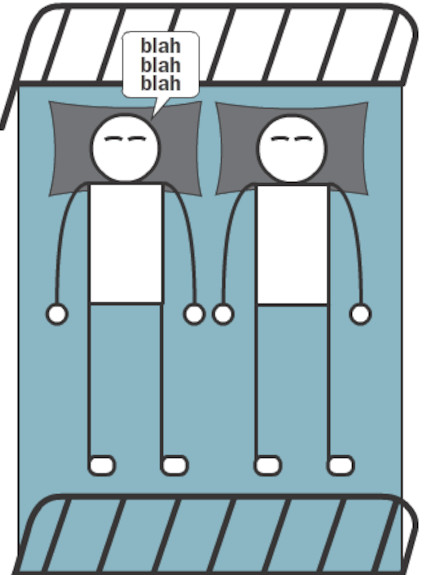 תנוחות שינה (צילום: לקוח מאתר huffingtonpost.com)