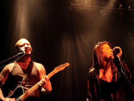 אביטל תמיר, סטפני זינגר, הופעה (צילום: אורית פניני)