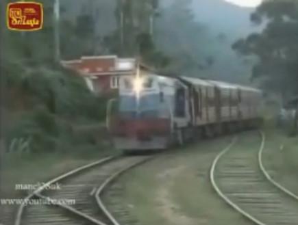 תיעוד: נדרסה על ידי רכבת וקמה ללא שריטות (וידאו WMV: Youtube.com)