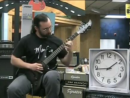 הגיטריסט המהיר בעולם (וידאו WMV: Youtube.com)
