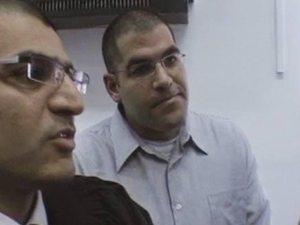 דניאל מעוז, היום בבית המשפט (צילום: חדשות 2)