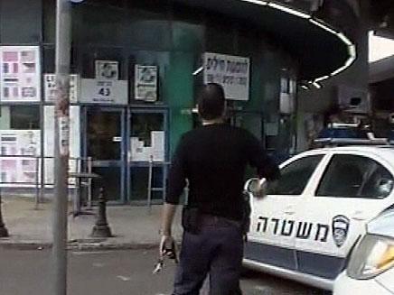 """חשד: מתנדבי משא""""ז ניסו לשדוד (צילום: חדשות 2)"""