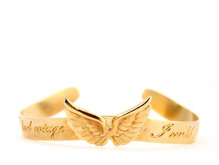 צמיד במתנה: if i had wings i could fly (צילום: נמרוד קפלוטו)