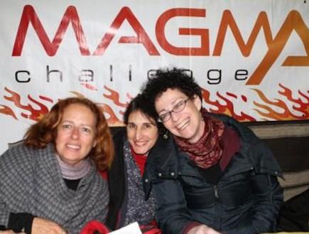 נשים בערב ההשקה מסע מאגמה צ'אלנג'