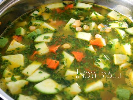 מרק ירקות 6 (צילום: אסתי רותם, אוכל טוב)
