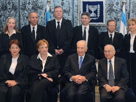 השבעת שופטים (צילום: חדשות 2)