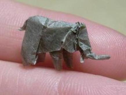 אוריגמי חיות (צילום: faltsucht.de)
