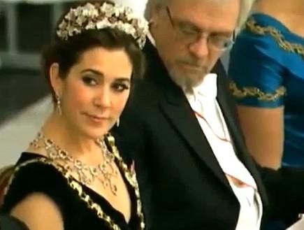 מרי נסיכת דנמרק (צילום: צילום מסך מתוך youtube)