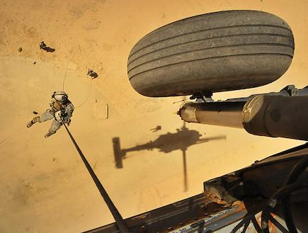 יחידת החילוץ של חיל האוויר האמריקאי (צילום: צבא ארצות הברית)