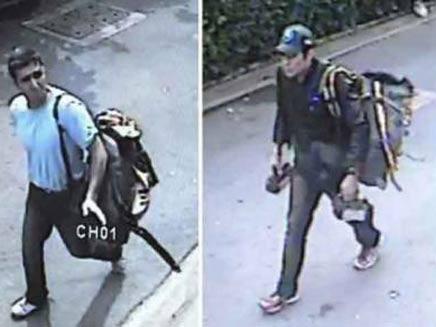 התיעוד שחשף את החשוד השישי (צילום: משטרת תאילנד)