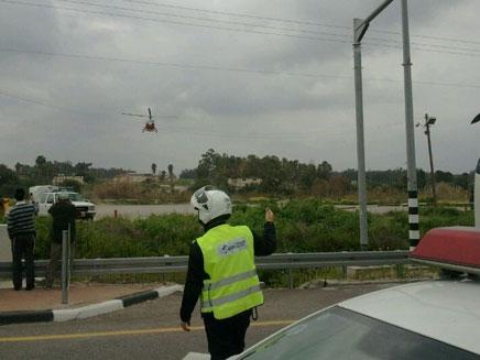 הרוג ופצועה אנוש בתאונת דרכים. ארכיון (צילום: מני עזריאל, חדשות 24)