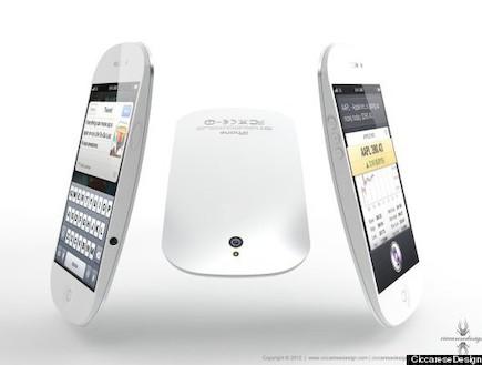 קונספט אייפון 5 (צילום: ciccaresedesign.com)