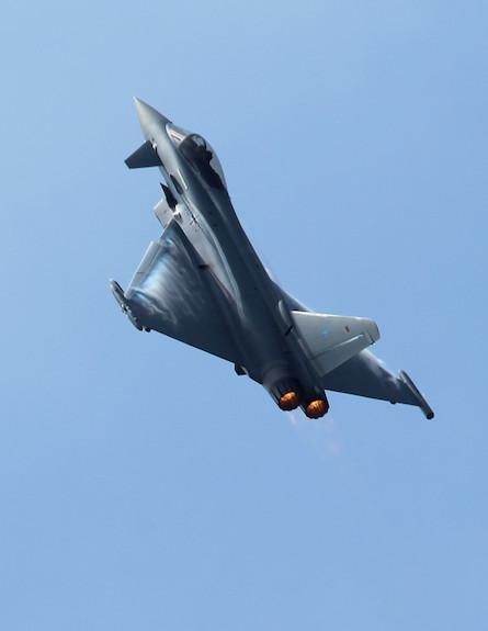 Eurofighter Typhoon (צילום: Sean Gallup, GettyImages IL)