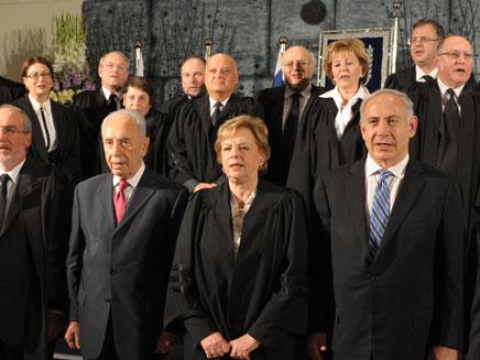 """שירת התקווה סגל בית המשפט העליון (צילום: לע""""מ)"""