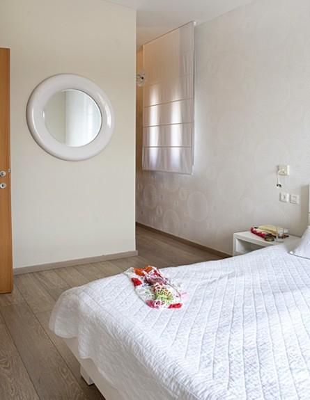 חדר שינה אחרי שיפוץ - ענת שמעוני זינגר