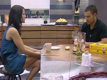 ערן ולירון מדברים על הדיירים (תמונת AVI: mako)