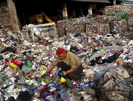 המזבלה העירונית של מקסיקו סיטי (צילום: nytimes.com)
