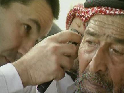 התרומה האמריקנית, הרופאים ישראלים (צילום: חדשות 2)