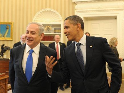 """היחסים יתחממו? נתניהו ואובמה (צילום: עמוס בן גרשום, לע""""מ)"""