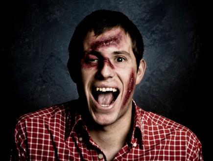 איפור פצוע (צילום: אימג'בנק / Thinkstock)
