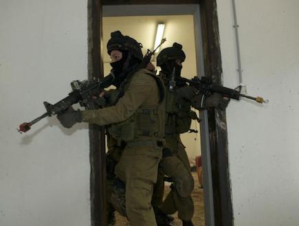 """יחידת יהלם בפעולה (צילום: דובר צה""""ל)"""