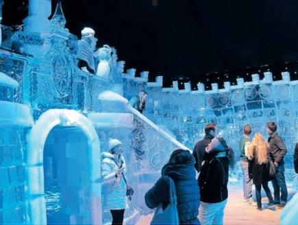 """פסטיבל הקרח ירושלים - חומות של תקווה (צילום: אורלי גנוסר, אביר סולטן, פלאש 90, עומרי בראל, יח""""צ, גלובס)"""