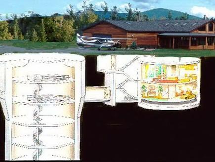 בית תת קרקעי (צילום: האתר הרשמי)