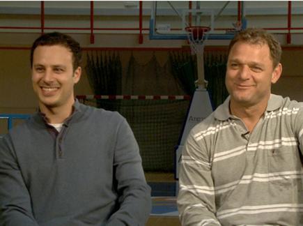 דני פדרמן ואלי דריקס. צפו בראיון (öéìåí: ספורט 5)
