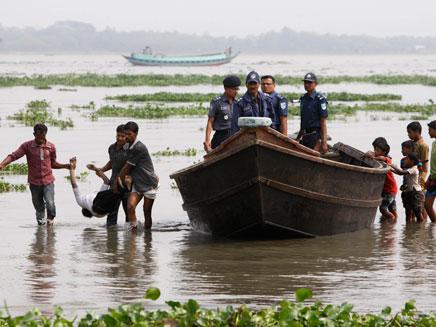 אסון בבנגלדש (צילום: AP)