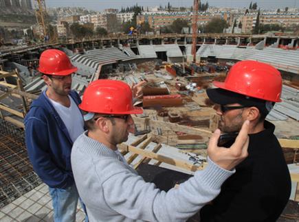בשנה הבאה בארינה הבנויה? (צילום: הפועל ירושלים) (צילום: ספורט 5)