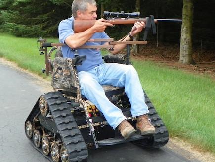 כיסא גלגלים מזוחלם (צילום: אתר החברה)