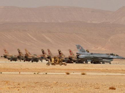 """המטוסים על הקרקע (תמונת AVI: דו""""צ)"""