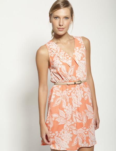 שמלת קיץ כתומה (צילום: תום מרשק)
