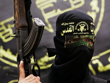 פעיל ג'יהאד איסלמי (צילום: Warrick Page, GettyImages IL)