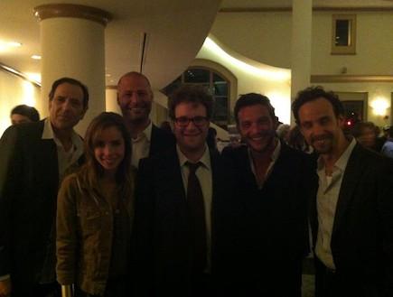 שרי גבעתי, ירון ברובינסקי ועוז זהבי בלוס אנג'לס (צילום: mako)